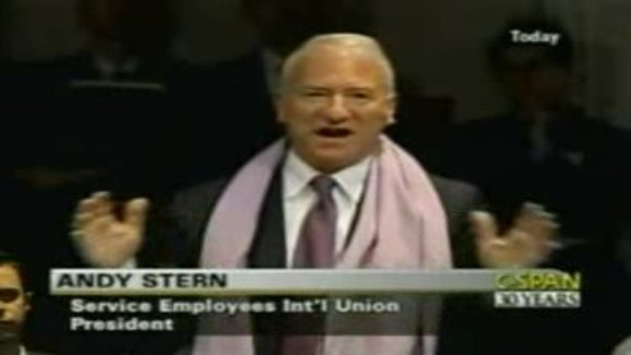 Boss Stern and the SEIU Want Your 401K