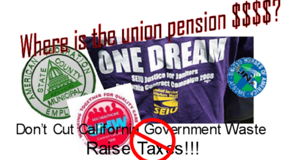 Government Employee Unions Bankrupting California