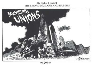 Big Labor Public Employee Unions Bankrupting States & Towns