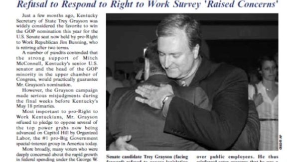 June 2010 Issue of The National Right To Work Committee Newsletter Now Available