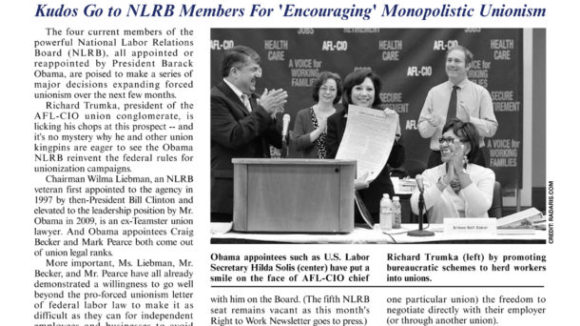 February 2011 issue of The National Right To Work Committee Newsletter now available