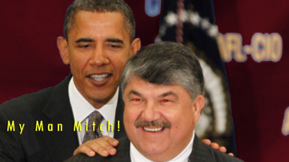 AFL-CIO Boss Trumka Declares