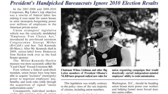 July 2011 issue of The National Right To Work Committee Newsletter now available