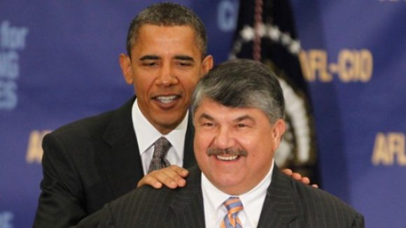Union Boss Trumka -- Obama has a