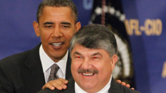 AFL-CIO Boss Trumka Demands End to Right To Work Freedom