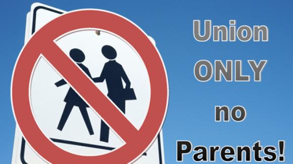 Big Labor's War on Parent Volunteers:  Just Send the $$$$'s