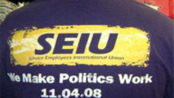 SEIU Forced Dues Political Juggernaut on the Air
