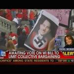 Big Labor Name Calling: Walker = Hitler
