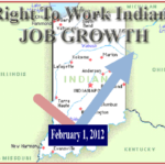 rtw INdiana Job Growth