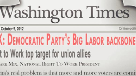 MIX: Democratic Party's Big Labor backbone