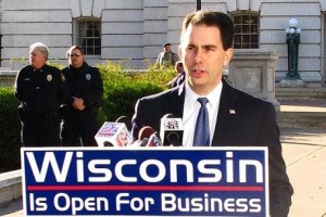 WI wins under Walker