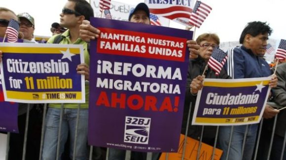 Six SEIU Amnesty Activists Arrested