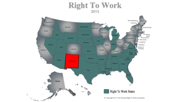 New Mexico Right To Work in 2015?