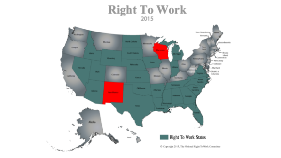 NM House, WI Senate Pass Right To Work