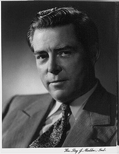 Ray John Madden,1892-1987,Congressman from Indiana,politician,US Representative