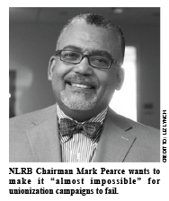 mark pearce nlrb chariman