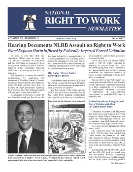NRTWC june newsletter cover