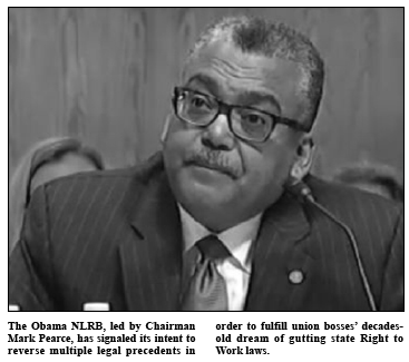 Obama's NLRB Chairman Mark Pearce