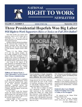 September 2015 NRTWC newsletter first page