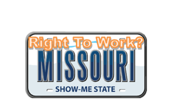 Missouri Passes Right To Work 100-59