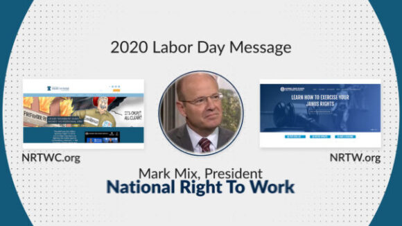 2020 Right To Work Committee Labor Day Statement