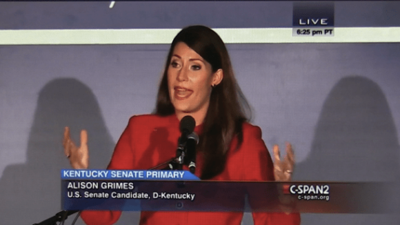 Big Labor's Lady in Red – Kentucky's Alison Grimes