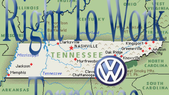 UAW Won't Leave Tennessee Even After Being Rejected by VW Employees