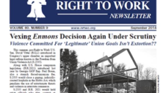September 2014 NRTWC Newsletter Now Available Online