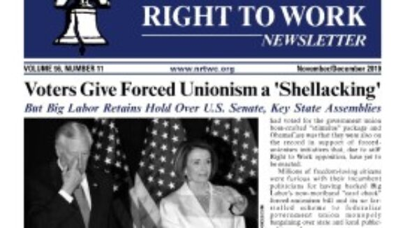 December 2010 issue of The National Right To Work Committee Newsletter is available