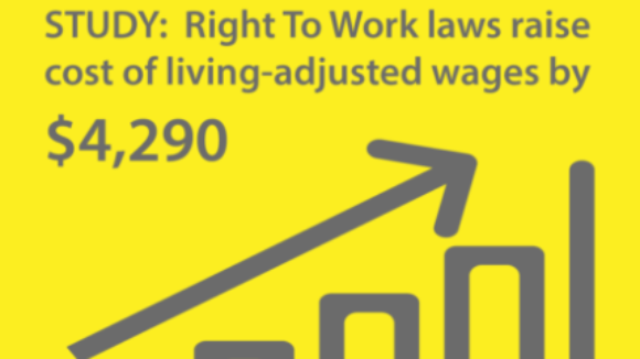 Right To Work State Workers Better Off