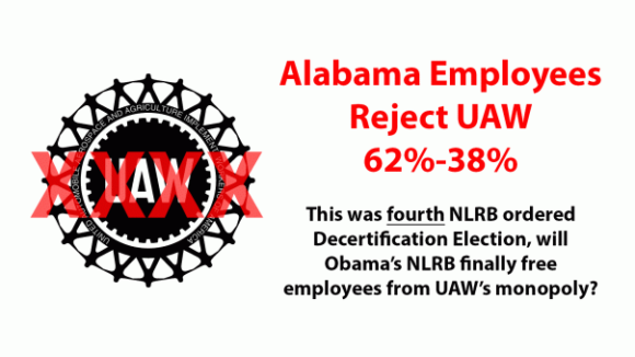 UAW Voted Out Again, Will Obama NLRB Finally Certify Votes