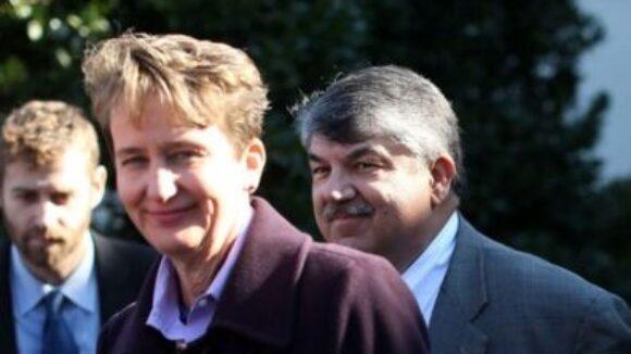 Big Labor Boss Trumka Pledges 'Aggressive' Electioneering