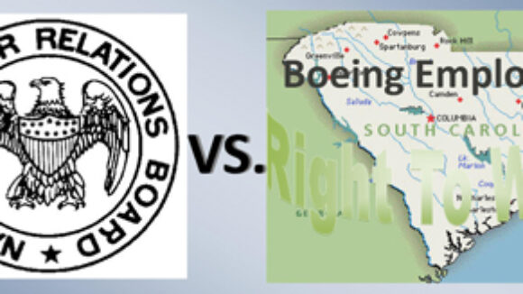 NLRB Boeing Retreat Snubs Workers