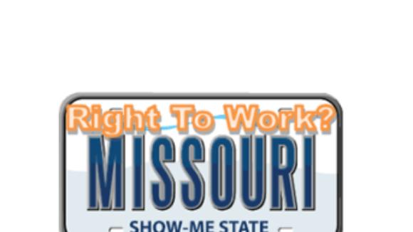 Missouri Passes Right To Work 100-59