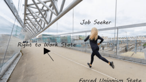 Forced Unionism Pushes Job Seekers Away