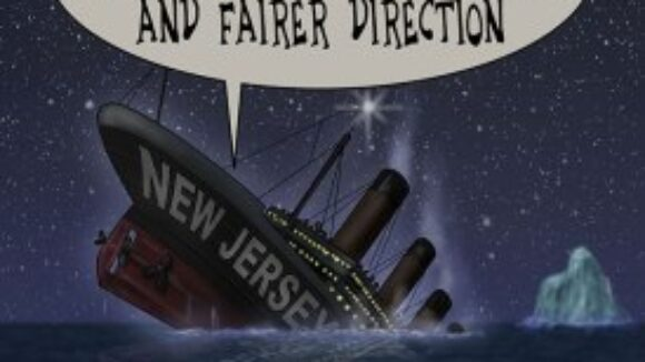 USS Big Labor Titanic taking States on a Ride to the Bottom