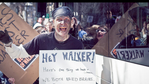 Brigade of Big Labor Bullhorn Bullies Fails to End Democracy