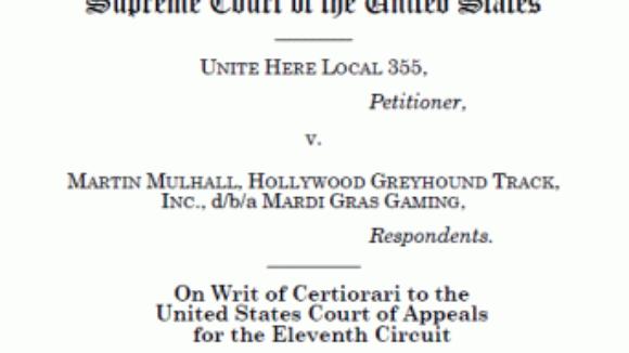This Week's NRTW Supreme Court Brief Regarding Card-Check