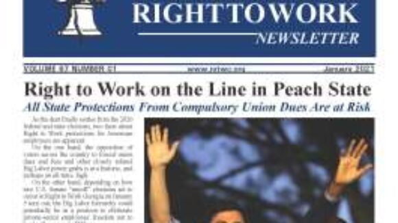 January 2021 National Right to Work Newsletter Summary