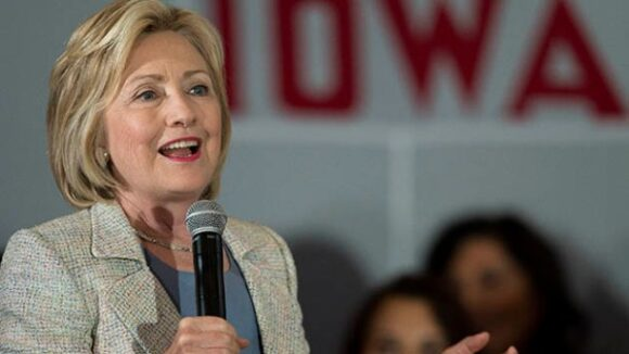 Just Two Months After Hillary Clinton 'Turn[ed]' Her 'Back on American Workers,' Laborers Union Hierarchy Endorses Her