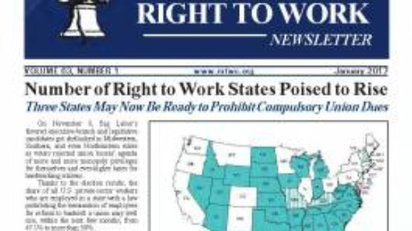 January 2017 National Right To Work Newsletter Summary