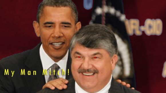 AFL-CIO Boss Trumka Declares