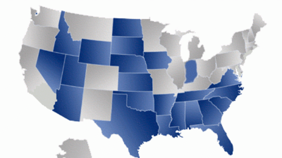 RealClear: 22 states with right-to-work laws grew 15 percent in the last decade