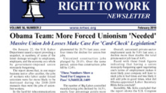Obama Team: More Forced Unionism 'Needed'