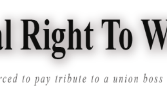 National Right To Work Act CoSponsors (2015-2016)