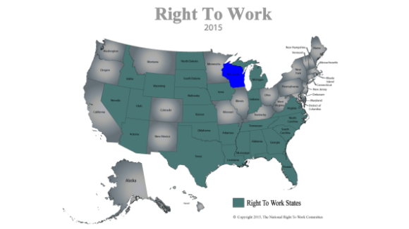 Wisconsin Right To Work Bill Passes Assembly, Headed to Walker