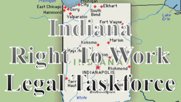 Workers Fight Back Against Big Labor's Attempt to Nullify Right To Work in Indiana