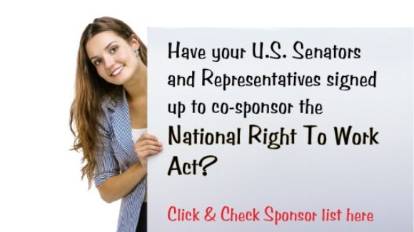 2017-2018 National Right To Work Act Sponsors