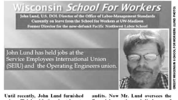 Obama Labor Department: A School For Scandal