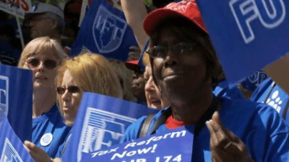 Socialist Teacher Block Deal in Chicago